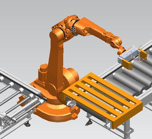 机器人的拾放操作,数字化产线设计及仿真(PROCESS SIMULATE)干货分享
